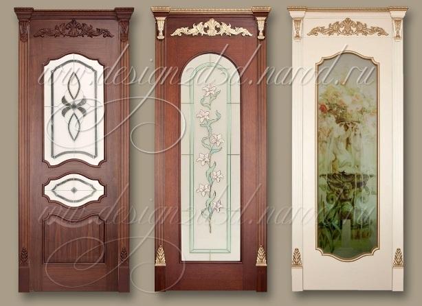 Дверные филенки резные двери 3d модели